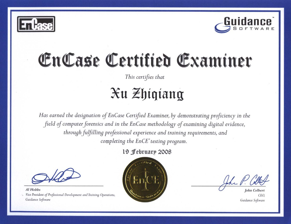 New Evidence File Format - EnCE EnCase Computer Forensics ...